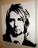 Kurt Cobain Nirvana Pop Art