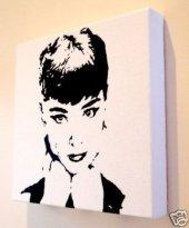 Audrey Hepburn pop art