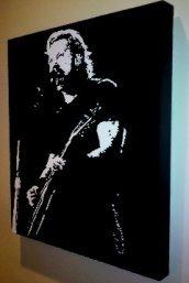 James-Hetfield-Metallica Pop Art