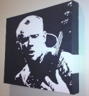 Flea pop art