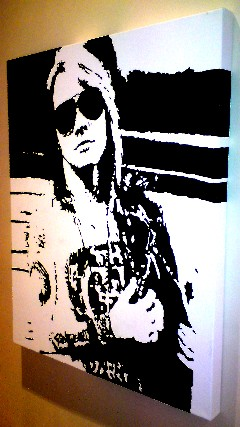 Axel Rose  Pop Art