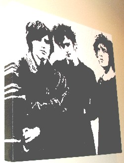 Black Rebel Motorcycle Club pop art