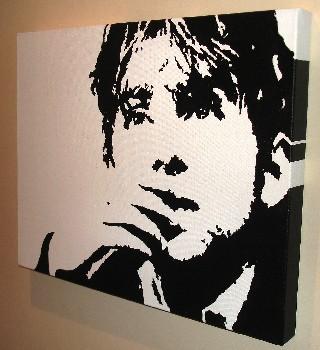 Damon Albarn pop art