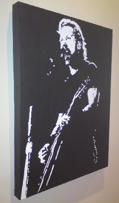 James-Hetfield-Metallica-Pop Art