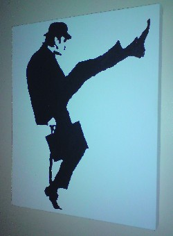 Monty Python John Cleese Pop Art