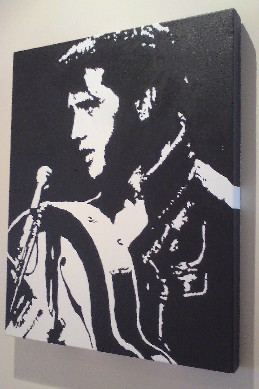 Elvis Presley Pop Art