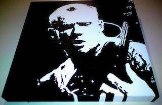 Flea Red Hot Chili Peppers Pop Art
