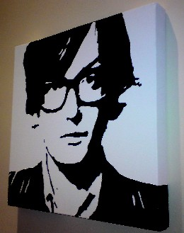 Jarvis Cocker Pulp Pop Art