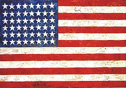 Jasper Johns Pop Art American Flag