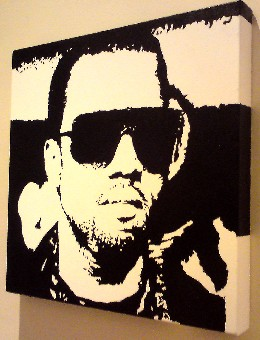 Kanye West pop art