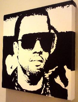 Kanye West pop art