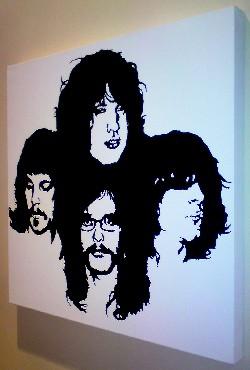 Kings of Leon pop art