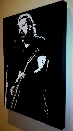 James-Hetfield-Metallica Pop Art