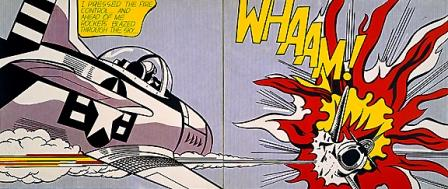 Roy Lichtenstein Cartoon Pop Art