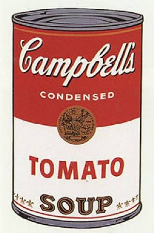 Campbells Soup Can Andy Warhol Pop Art