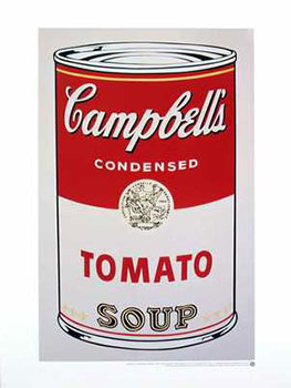 Andy Warhol Soup Can Pop Art